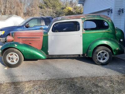 1936 Chevrolet Master 2 door sedan