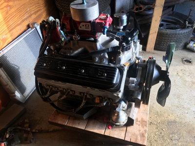 604 crate motor