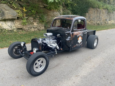 1951 F-2 Rat Rod! Custom and Crazy Cool