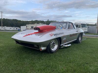 Tube chassis Corvette Drag car