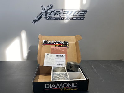 Custom Diamond Pistons for 4.8 Bore Hemi