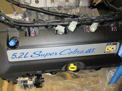 2019 Ford Super Cobra Jet 5.2 Motor- New!