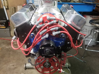 327/275 superstock motor complete