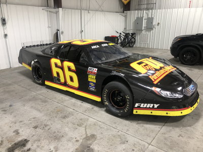 Rusty wallace racing 2 race old fury car