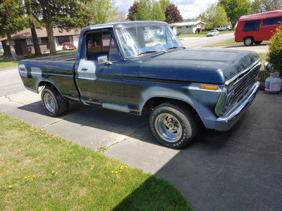 74 Shortbed F100