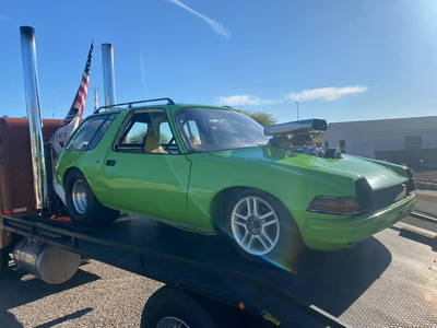 amc pacer blown!!