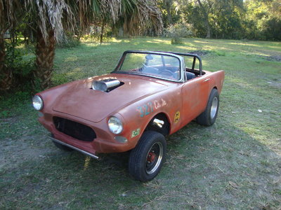 VINTAGE 60s GASSER. 1964 SUNBEAM Tiger Yes its a Real Tiger