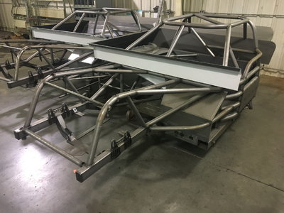 Straight Rail Super Late Model Chassis