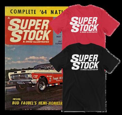 SUPER STOCK & DRAG ILLUSTRATED T-Shirt