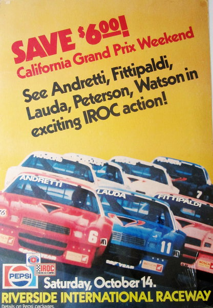 WANTED: ANY PENSKE IROC SERIES RACE CAR for sale in BEVERLY HILLS, CA,  Price: $10,000