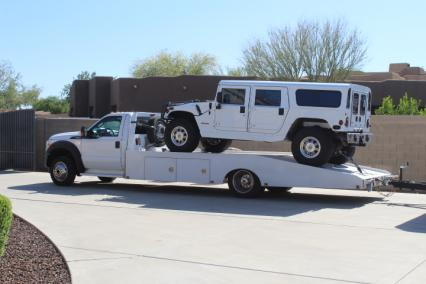 2015 ford f550 hodges car hauler 19 foot bed 67  for Sale $45,000