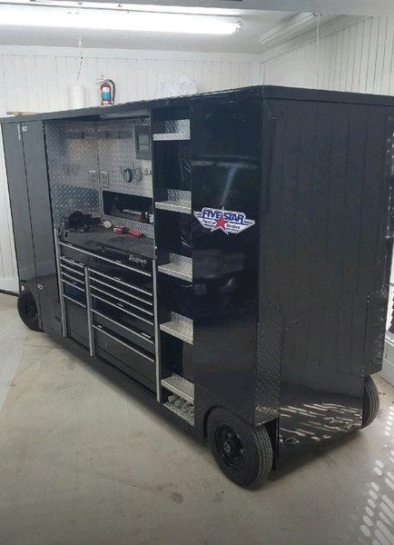 NASCAR Pit Box