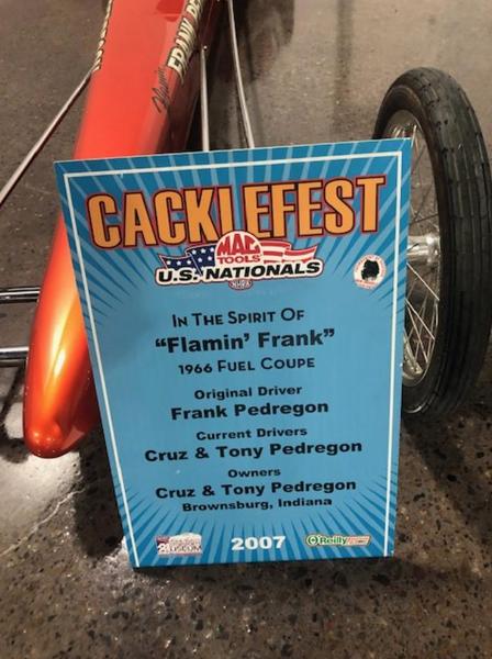 Frank Pedregons Recreation Cackle Car