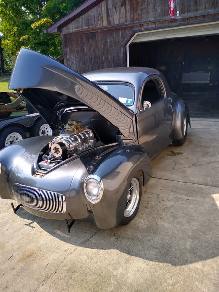 It's title as 2019 custom but it's a 1941 willys. &nbs  for Sale $60