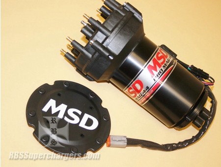 MSD 44 Generator Pro Cap Band Clamp Mount Black   for Sale $2,543