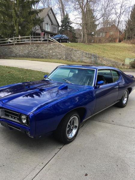 1969 PONTIAC GTO  for Sale $44,949