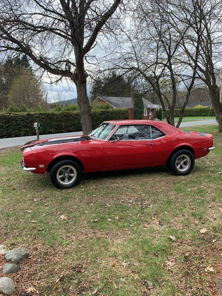 1968 CHEVROLET CAMARO  for Sale $39,949