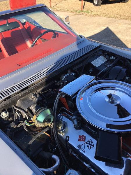 1972 Corvette Stingray Convertible   for Sale $35,500