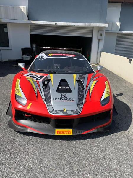 2018 Ferrari 488 Challenge  for Sale $170,000