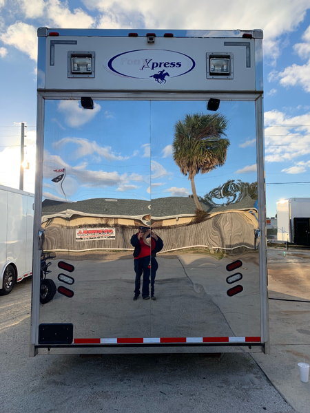2009 Pony Express 34' Stacker Trailer  for Sale $39,999