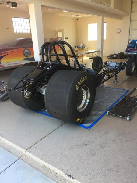 Funny Car chassis  for Sale $11,500