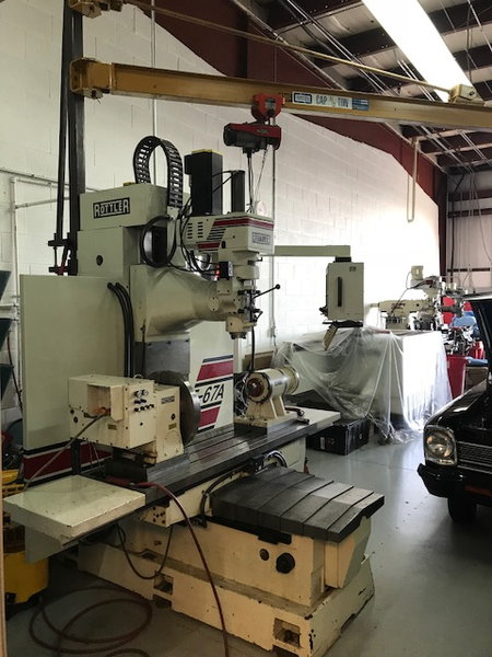 Rottler Machine Center  for Sale $87,500