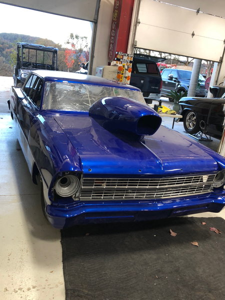 1967 Chevy II Supersport Nova Beautiful Emerald Blue  for Sale $72,000