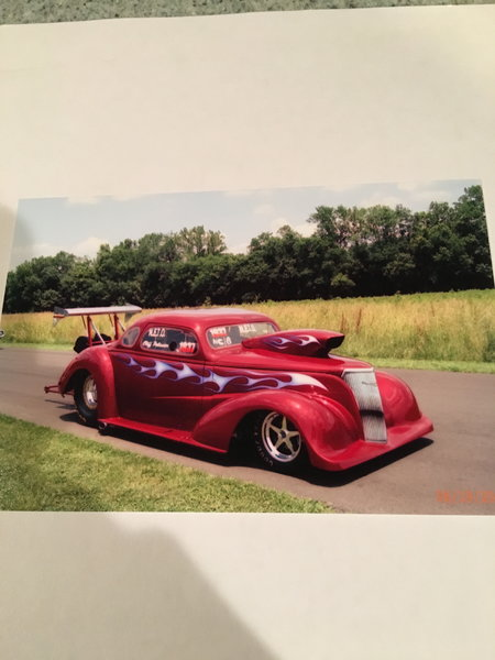 1937 Chevrolet Drag Car  for Sale $30,000