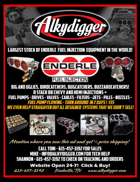 Assassinator Throttle Body  by Alkydigger-Enderle  1215 cfm   for Sale $1,295