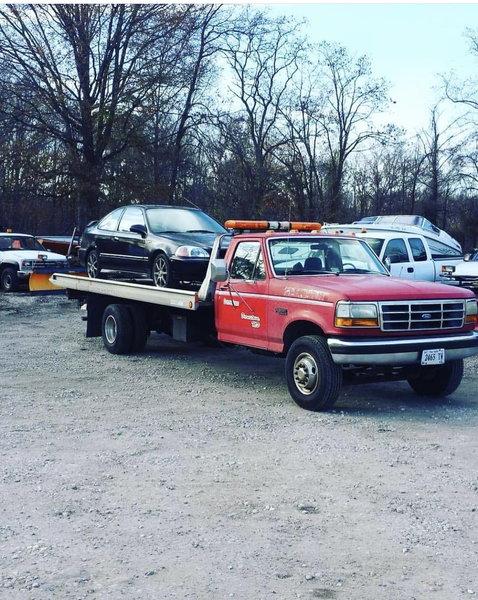 1993 f450 roll back
