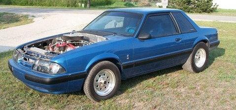 1989 Pro Strip/Street Notch-Back Mustang  for Sale $14,500