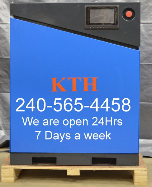 KTH 20 Hp Rotary Srew Air Compressor w/VFD Drive ON SALE    for Sale $7,300