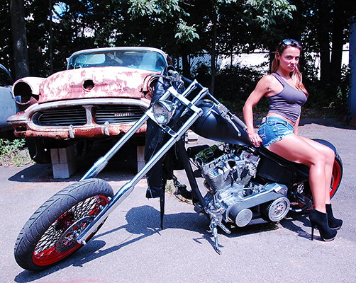 2004 Midwest Custom Chopper-107 IN S&S  for Sale $10,000