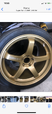 20 inch Gold Advan GT wheels  for sale $1,200