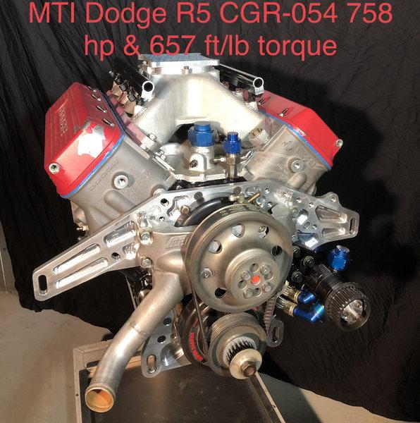 MTI CGR 054 Dodge R5  921hp & 606 ft/lb torque  for Sale $28,000