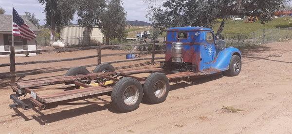1940 Diamond T Deluxe Custom Hillclimb Race Truck and Rat Ro  for Sale $39,500