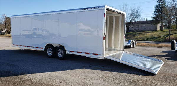 New 2019 26' Featherlite Model 4926 Enclosed Car Trailer  for Sale $19,300