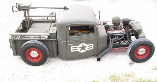 1934 International Rat Rod Truck  for Sale $15,500