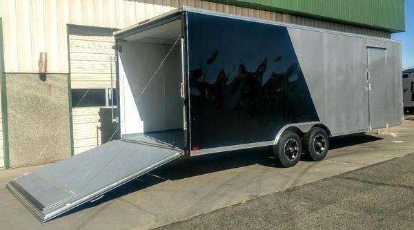 NEW Everlite All Aluminum 8.5'x24' Enclosed Car Hauler Trail