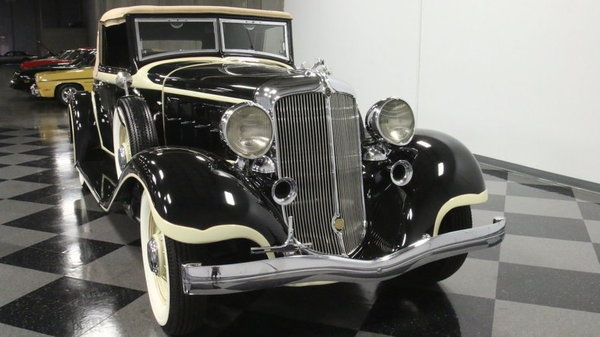 1933 Chrysler Imperial CQ Roadster  for Sale $98,995