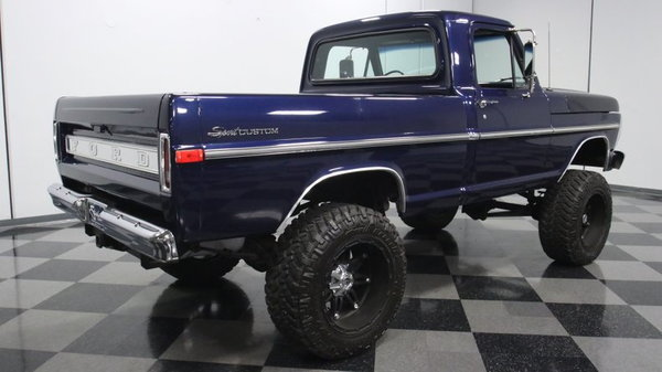 1970 Ford F-100 4X4  for Sale $36,995