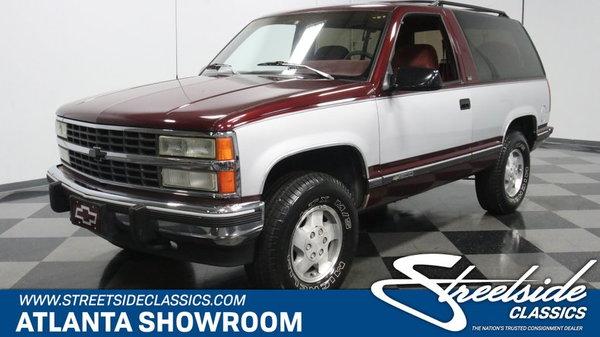 1992 Chevrolet K1500 Blazer 4X4