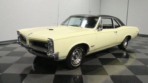 1966 Pontiac GTO  for Sale $50,995