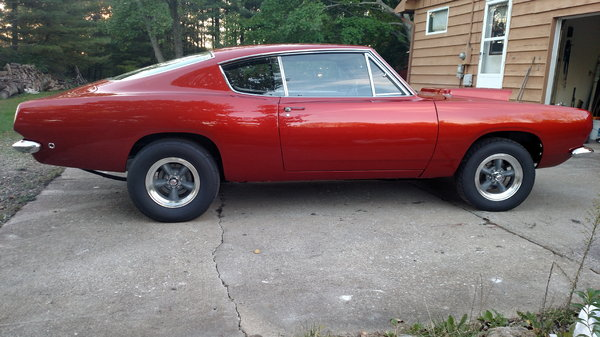 1968 Plymouth Barracuda  for Sale $89,997