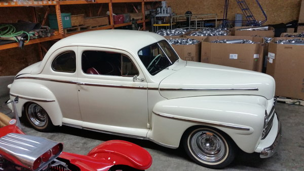 1947 Ford Super Deluxe 5 window coupe  for Sale $42,000