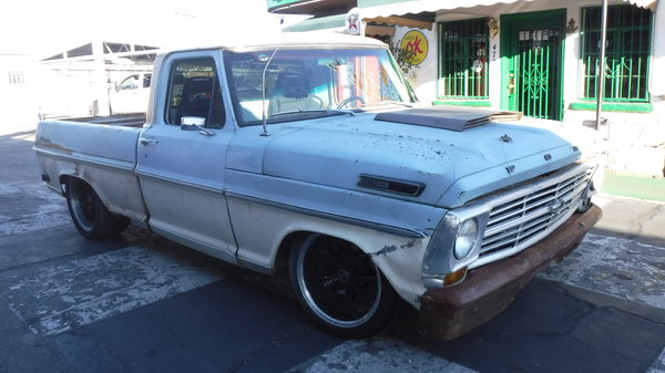 1968 FORD F100 SUPERCHARGED PATINA PRO TOURING  for Sale $19,500