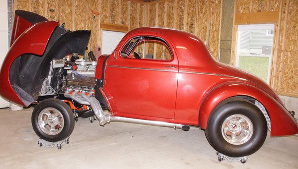 1941 Willys Coupe, 426 HEMI  for Sale $64,000