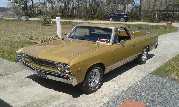 1967 Chevrolet El Camino  for Sale $25,000