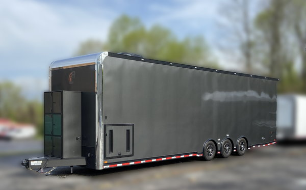 2020 34' Intech Aluminum Trailer - Fully Loaded!