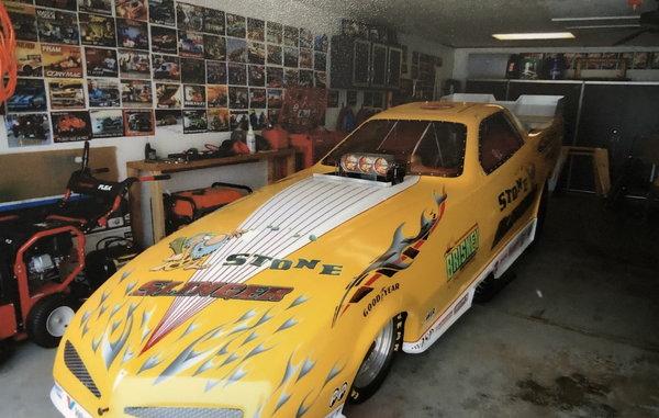 1995 Alcohol Murf McKinney Funny Car  for Sale $35,000